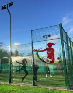 padel court at portmarnock sports and leisure