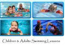 Swimming lessons, Term 3…