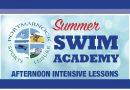 Summer Swim Academy…