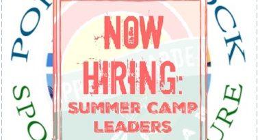 Summer Camp Leaders needed…