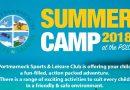 Summer Camp 2018 Bookings