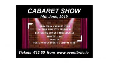 Cabaret Night at PSLC…