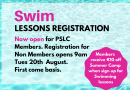 Swim Lessons Registration