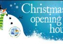 CHRISTMAS OPENING TIMES…