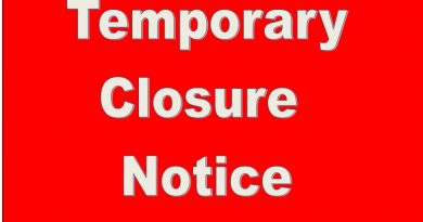 Temporary Closure of PSLC