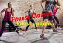 Updated Fitness Classes at PSLC…