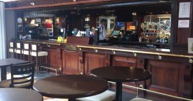 Indoor Bar Service Resumes..